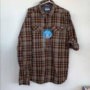 Columbia sportswear UPF 30 long sleeve shirt